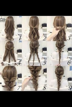 How To Super Cute 4 Strand Braid Step By Step Diagram Included