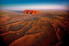 Uluru Ayers Rock, Northern Territory, Australia [ 1920 x 1080 ] Air New Zealand, Tonga, Parc National, National Parks, Australia Tourist Attractions, Formations Rocheuses, Natural Structures, Ayers Rock, Dji Phantom 4