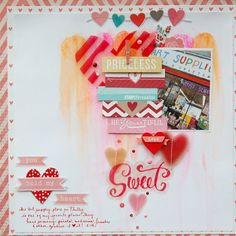 Using Life Pages Cards on a Layout
