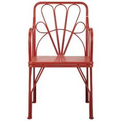 Sophie Arm Chair in Persimmon