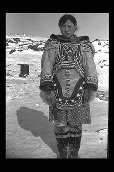 Udluriak Pitseolak at Keatuk, Baffin Island - Inuit - 1947