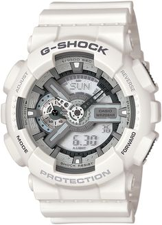 Shop men's and women's digital watches from G-SHOCK. G-SHOCK blends bold style with the most durable digital and analog-digital watches in the industry. Casio G Shock Watches, Army Watches, Fossil Watches, Sport Watches, Cool Watches, Rolex Watches, Watches For Men, White Watches, Nixon Watches