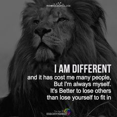 I Am Different - Quotes
