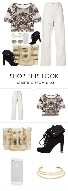 """""""Untitled #1687"""" by anarita11 ❤ liked on Polyvore featuring Lemaire, Temperley London, Chanel, Louis Vuitton, Kenneth Jay Lane and Miu Miu"""