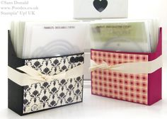 Stampin' Up! UK Framelit Storage Box