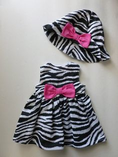 18 inch AMERICAN GIRL DOLL Clothes  Zebra by crystallakecreations, $25.00