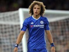 Chelsea head coach Antonio Conte says that defender David Luiz will miss Wednesday's Premier League clash with Swansea City due to a knee problem. David Luiz Chelsea, Chelsea Fc, Chelsea Players, Match Of The Day, Soccer Kits, Play Soccer, English Football League, Manchester United Football, Sons