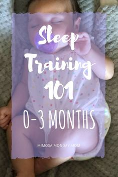 #SleepTraining a #NewbornBaby - So you spend 40 weeks of your life growing a tiny human, about 20 (give or take - hopefully take for your sake!) hours in labor, 2-3 days recovering in the hospital with countless visitors and being woken up what feels like every 5 seconds for meds and vitals