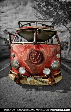 Arrive Alive - MemePix VW I like the Tow Chain in case it breaks down.