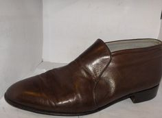 FLORSHEIM ROYAL IMPERIAL MENS SOFT BROWN LEATHER SIZE 9.5D ANKLE BOOT #Florsheimroyalimperial #AnkleBoots