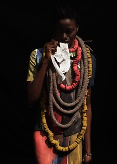 Under the Influence Magazine. Photo by Suzie Q and Leo Siboni #AfricanStyle #Magazine #PhotoShoot #Tribal #Accessories - curated by @ethicalfashion1