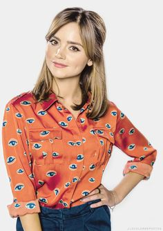 Jenna Louise Coleman, I just love her! ❤