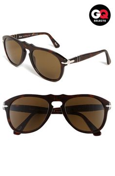 Persol Retro Keyhole Polarized 54mm Sunglasses | Nordstrom