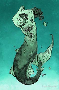 Merman by Zach Brunner