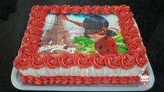Bolo de Aniversário Ladybug Cake Chef.