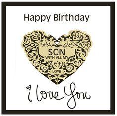 Happy Birthday Son – Birthday Cards, Wishes, Images Happy 21st Birthday Son, Happy Birthday Son Images, Nice Birthday Messages, Birthday Wishes For Son, Free Birthday Card, Birthday Blessings, Birthday Wishes Quotes, Sons Birthday, Happy Birthday Greetings