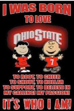 I surely was ☺ Ohio State Vs Michigan, Ohio State Baby, Ohio State University, Buckeyes Football, Ohio State Football, Ohio State Buckeyes, Football Memes, College Football, Oklahoma Sooners