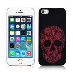 JAMMYLIZARD Custodia per iPhone 5 e 5S SKULL teschio messicano ROSSO Back Cover, pellicola proteggi schermo e panno in microfibra inclusi JAMMYLIZARD http://www.amazon.it/dp/B00PCO1TE0/ref=cm_sw_r_pi_dp_Vo12ub1Y80B48