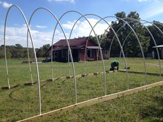 The $500 Hoop House for HayStorage - To Be A Farmer - Little Seed Farm