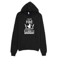 Make Fire Disappear Unisex Hoodie - #Shirterrific #Apparel #Clothing #Fire #Firefighter #Hoodie On SALE 33% OFF...SAVE Today: https://shirterrific.com/store/styles/unisex-hoodies/make-fire-disappear-unisex-hoodie/