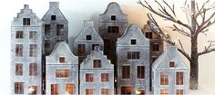 Saltbox Houses, Putz Houses, Bird Houses, Wooden Houses, Clay Houses, Paper Houses, Miniature Houses, House Candle Holder, Tealight Candle Holders