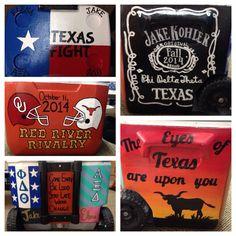 Texas-OU cooler 2014!