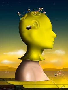 Perfil em Amarelo.   por Marcel Caram