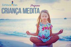 O Infância Zen – Programa Criança Medita foi criado com objetivo de introduzir a prática de meditação e visualização criativa de forma lúdica e encantadora na vida das crianças.
