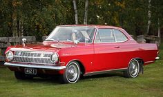 Opel Rekord Coupe 6 '65 - sestine-Coupe