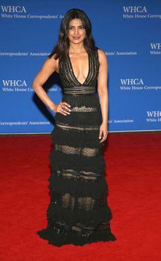 Priyanka Chopra from White House Correspondents' Dinner 2016: Star Sightings | E! Online