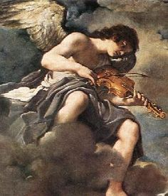 Angel Playing Violin, Il Guercino