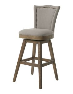 waymar wood swivel bar stools with arms the federal kitchens