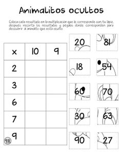 Printables Worksheets For Kids Referral: 6090045506 Multiplication Activities, Math Worksheets, Math Activities, Math Sheets, Primary Maths, Simple Math, Writing Numbers, 4th Grade Math, Homeschool Math