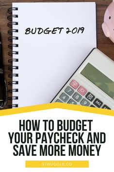 How to Budget Your Paycheck and Save More Money Earn More Money, Ways To Save Money, Money Tips, Money Saving Tips, Money Hacks, Budget App, Budget Spreadsheet, Budget Planner, Living On A Budget