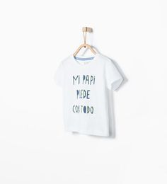 ZARA - KIDS - Spanish text T-shirt