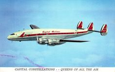 Capital Airlines. Lockheed Constellation
