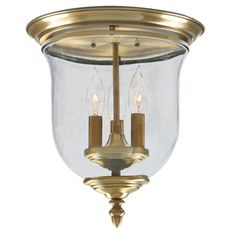 Darby Home Co Sackler 3 Light Flush Mount & Reviews | Wayfair