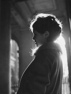 greeneyes55: Annie Fargue 1958 Photo: Robert Doisneau