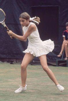Chris Evert, Tennis
