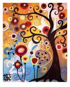 June Tree Gicléedruk van Natasha Wescoat
