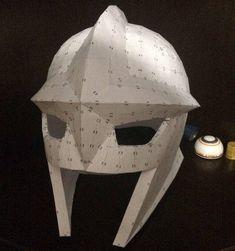 Life Size Nova Helmet Free Papercraft Download - http://www.papercraftsquare.com/life-size-nova-helmet-free-papercraft-download.html#Helmet, #LifeSize, #Nova