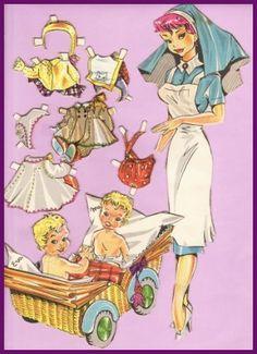 Ingrid Molzen. PDsamler. Online Interest Group on paper dolls.