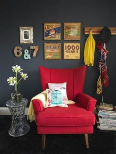 123 Best Red Chair Chair Design Images In 2017 Contemporary
