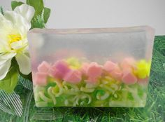 Soap  Monet's Garden Glycerin Soap  All Natural by SoapGarden