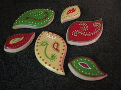 Paisley Cookies... Have the Cutout already!