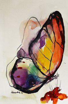 Rainbow Butterfly wa