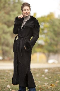 cc84e619be357 Women s Fincastle Hooded Sheepskin Coat with Toscana Trim. Alexis Phillips  · Dressing for Goddesses