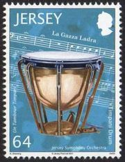 Jersey 2011 Music - Stamps of the World