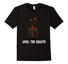 Amazon.com: April Shirt Tee Funny and Witty April the Giraffe T-Shirt: Clothing