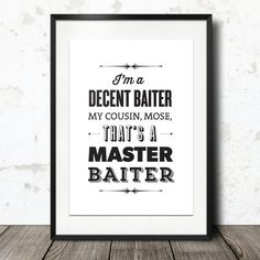 Typography Print The Office Quote TV Quote Dwight by paperchat